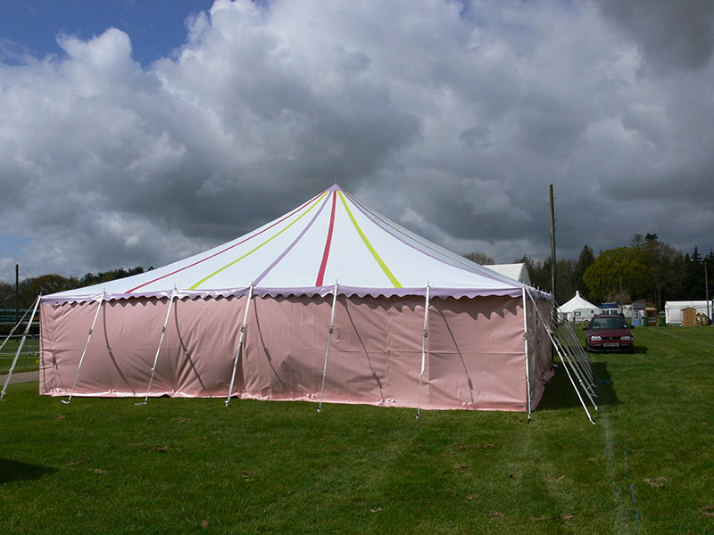 Pink Marquee Manufacture