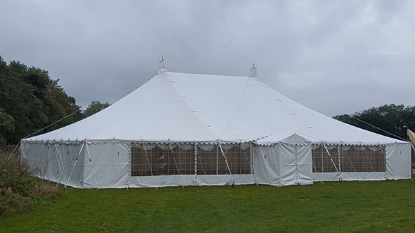 A large marquee for event and party hire.