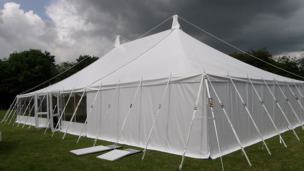 Semi-permanent marquee