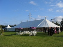 Traditional summer marquee to purchase