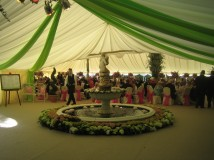 Marquee and Hall Linings for manufacture and sale