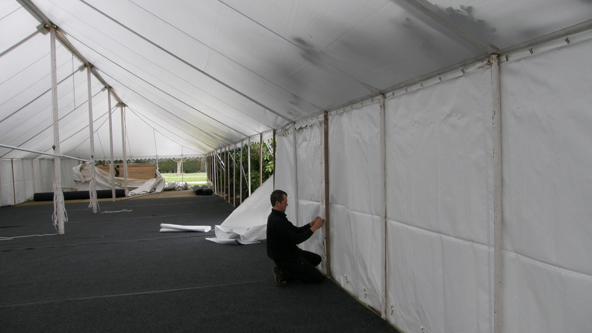 Semi Permanent Marquee.