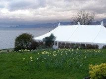 Traditional Marquee manufacture