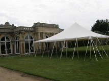 Traditional Style Canvas Marquee