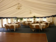 Marquee Lining manufacture