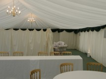 Marquee Lining for Halls