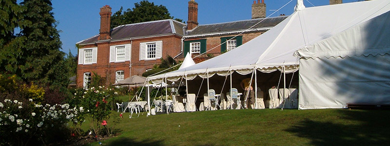 Traditional Marquees