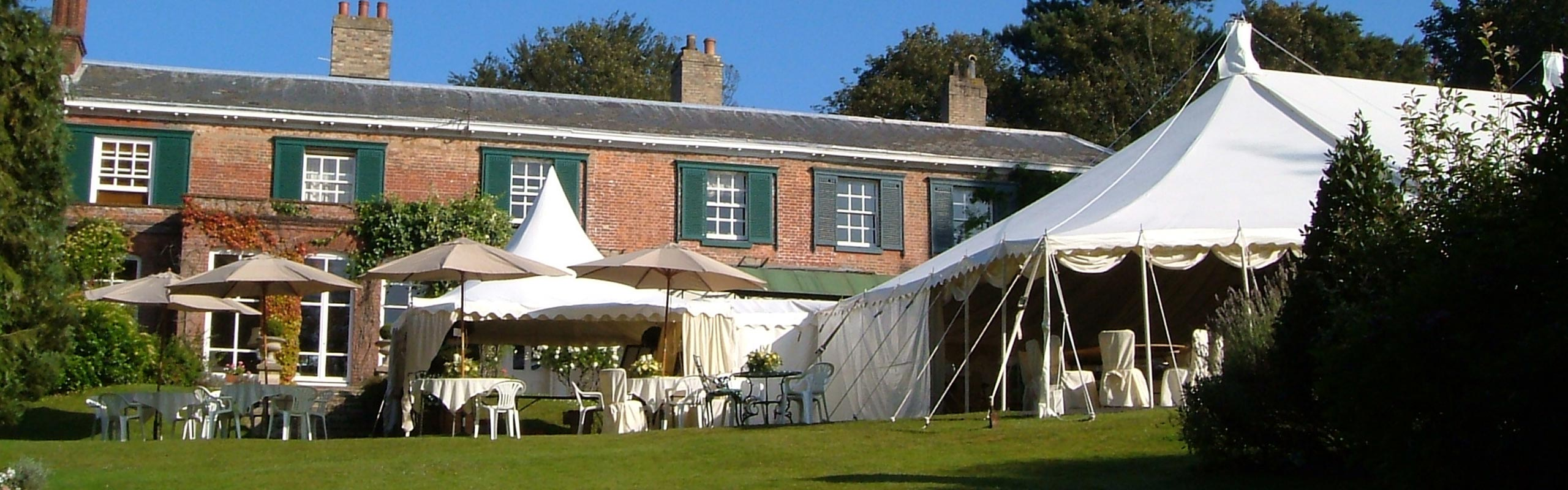 Marquee hire In Bury St Edmunds